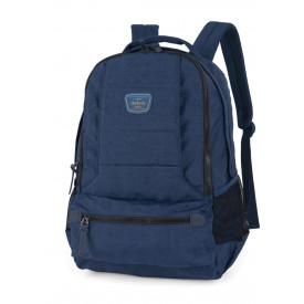 Mochila notebook masculina Up4you Azul MJ48261UP Luxcel