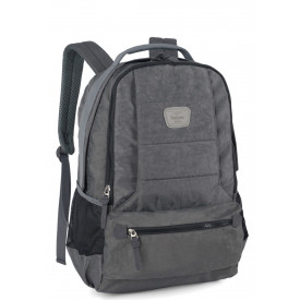Mochila notebook masculina Up4you Cinza MJ48261UP Luxcel