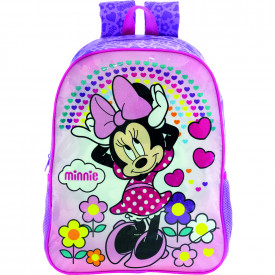 Mochila feminina infantil  14 Minnie Daydreaming 8943