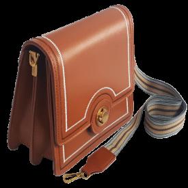 Bolsa Transversal  feminina caramelo 91016