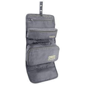 Organizador de maquiagem bagagem 3 em 1 cinza Jacki Design 19816