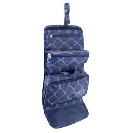 Organizador de maquiagem bagagem 3 em 1 azul Jacki Design 19816